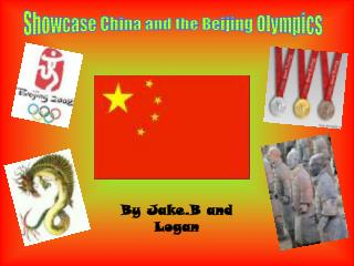 Showcase China and the Beijing Olympics