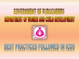 GOVERNMENT OF PUDUCHERRY