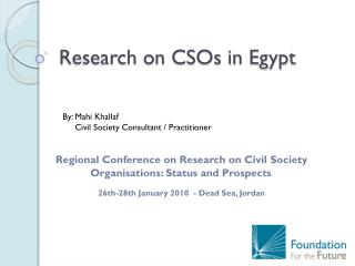 Research on CSOs in Egypt