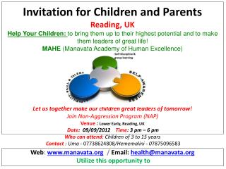 Web :  manavata   /  Email :  health@manavata Utilize  this opportunity  to