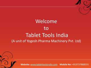 Tablet Punching Machine, Rotary Tablet Press Machine