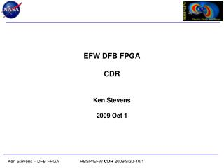 EFW DFB FPGA CDR