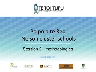 Poipoia te Reo Nelson cluster schools