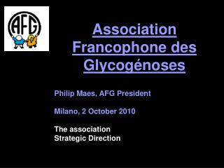 Association Francophone des  Glycogénose s