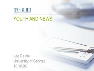 YOUTH AND NEWS