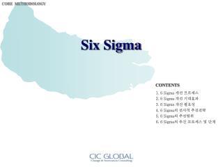 6 Sigma  개선 프로세스 6 Sigma  개선 기대효과 6 Sigma  개선 필요성 6 Sigma 의 전사적 추진전략 6 Sigma 의 추진범위