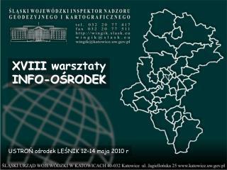 XVIII  warsztaty INFO-OŚRODEK