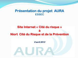 Présentation du projet  AURA ESSEC
