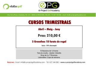 CURSOS TRIMESTRALS