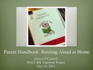 Parent Handbook: Reading Aloud at Home