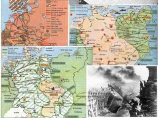 3.4.-  La derrota nazi (febrer 1943 – maig 1945) .