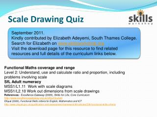Scale Drawing Quiz