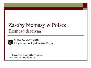Zasoby biomasy w Polsce Biomasa drzewna