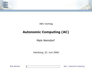 AW1-Vortrag