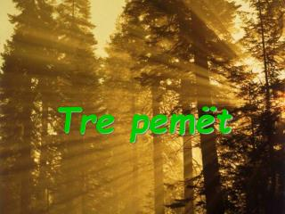 Tre pemët
