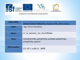Datum vytvoření  : 06.02.2012