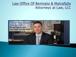 New Jersey Personal Injury attorney | Beninato & Dan. T