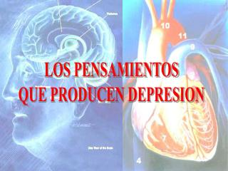 LOS PENSAMIENTOS QUE PRODUCEN DEPRESION
