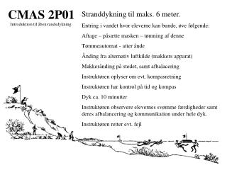 CMAS 2P01