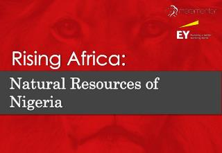 Rising africa natural resources of nigeria