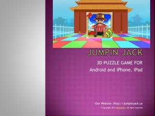 Jumpin Jack Puzzle Game for iPhone, iPad & Android