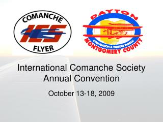 International Comanche Society Annual Convention