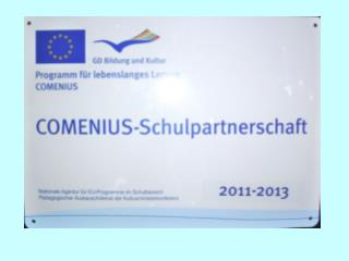 Comenius School-Partnership 2011-2013