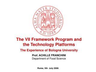 Rome, 5th  July 2006