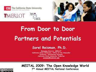 From Door to Door Partners and Potentials