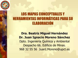 LOS MAPAS CONCEPTUALES Y HERRAMIENTAS INFORMÁTICAS PARA SU ELABORACIÓN