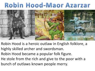 Robin Hood- Maor Azarzar