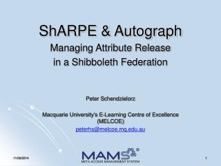 ShARPE & Autograph