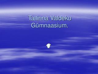 Tallinna Valdeku  Gümnaasium.