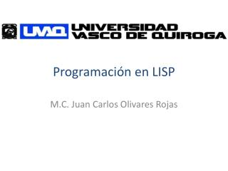 Programación en LISP