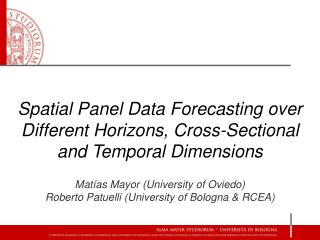 Spatial Panel Data Forecasting over Different Horizons, Cross-Sectional and Temporal Dimensions