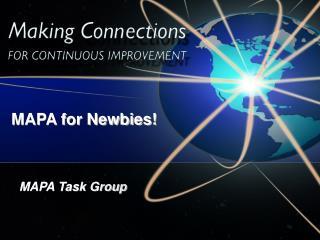 MAPA Task Group