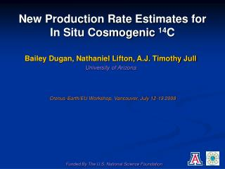 New Production Rate Estimates for In Situ Cosmogenic  14 C