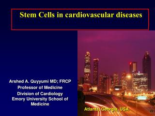 Stem Cells in cardiovascular diseases