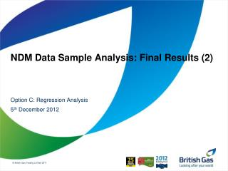 NDM Data Sample Analysis: Final Results (2)