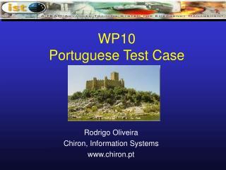 WP10 Portuguese Test Case