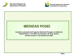 MEDIDAS POSEI