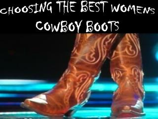 Ankle Cowboy Boots Women- Get Best Support To Your Ankle!