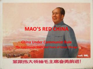 MAO�S RED CHINA