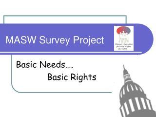 MASW Survey Project