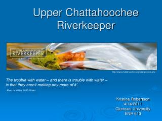 Upper Chattahoochee Riverkeeper