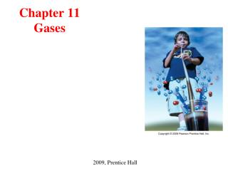 Chapter 11 Gases