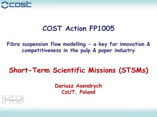 COST Action FP1005