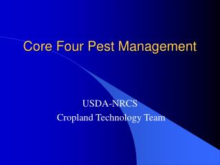 Core Four Pest Management