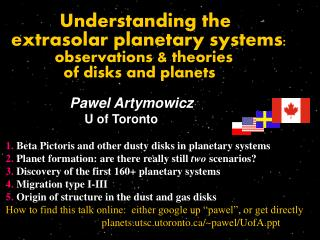 Understanding the   extrasolar planetary systems :            observations & theories