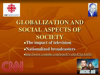 GLOBALIZATION AND SOCIAL ASPECTS OF SOCIETY